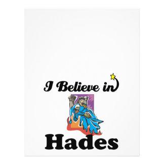 i believe in hades 21.5 cm x 28 cm flyer