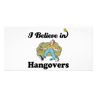 i believe in hangovers photo cards