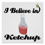 i believe in ketchup