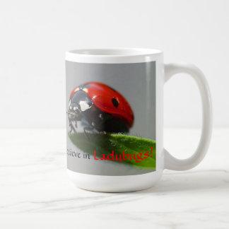 I Believe in Ladybugs Mug
