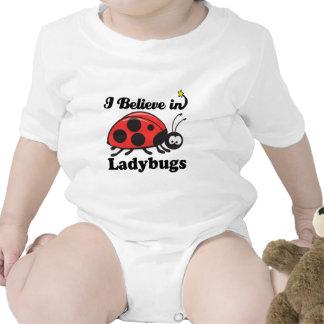 i believe in ladybugs bodysuits