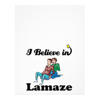 i believe in lamaze 21.5 cm x 28 cm flyer