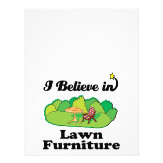 i believe in lawm furniture personalized flyer