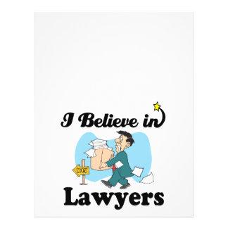 i believe in lawyers flyer