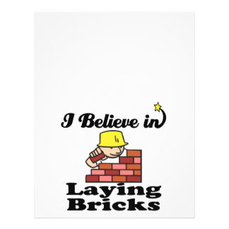 i believe in laying bricks 21.5 cm x 28 cm flyer