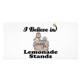 i believe in lemonade stands picture card