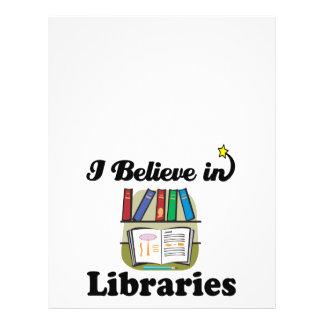 i believe in libraries 21.5 cm x 28 cm flyer