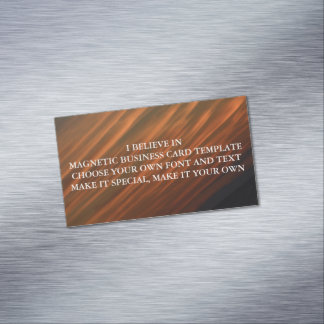 I BELIEVE IN MAGNETIC BUSINESS CARD TEMPLATE MAGNETIC BUSINESS CARDS