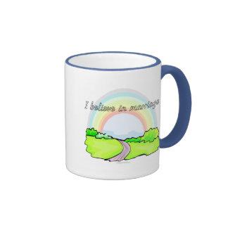 I believe in marriage ringer mug