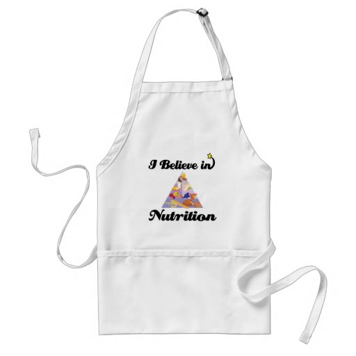 i believe in nutrition apron