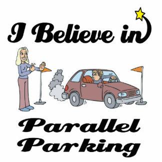i believe in parallel parking II Standing Photo Sculpture