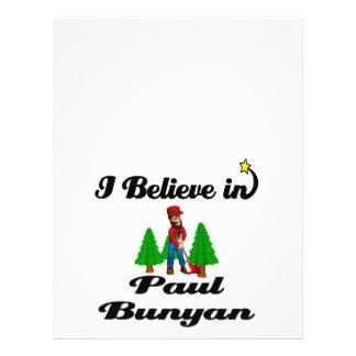 i believe in paul bunyan custom flyer