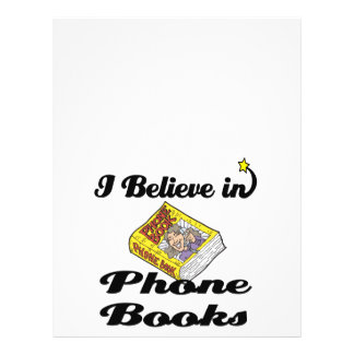 i believe in phone books full color flyer