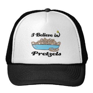 i believe in pretzels cap