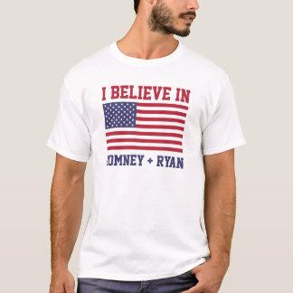 I Believe in Romney & Ryan T-Shirts