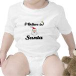 i believe in santa bodysuits