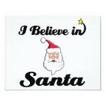 i believe in santa custom announcements