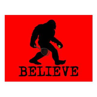 I believe in Sasquatch Postcard