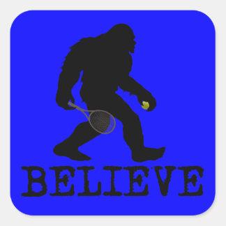 I believe in Sasquatch Square Sticker