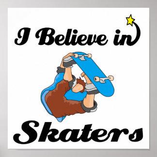 i believe in skaters poster