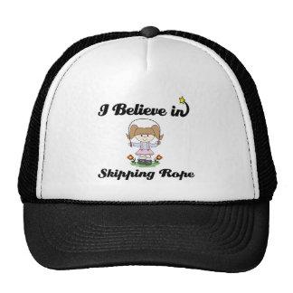i believe in skipping rope cap