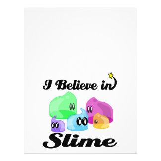 i believe in slime 21.5 cm x 28 cm flyer