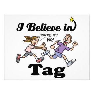 i believe in tag custom invite