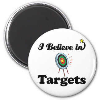 i believe in targets magnet