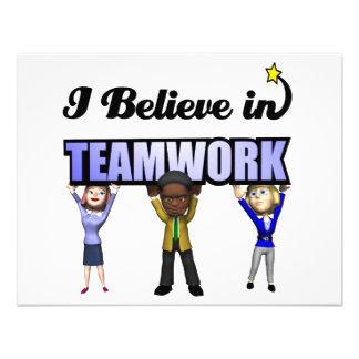 i believe in teamwork custom invites