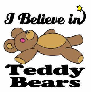 i believe in teddy bears standing photo sculpture