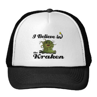 i believe in the kraken cap