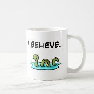 I Believe in the Loch Ness Monster Basic White Mug