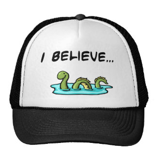 I Believe in the Loch Ness Monster Trucker Hat