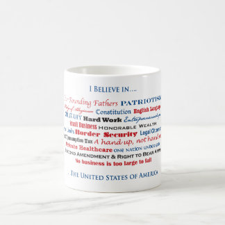 I believe in the United States Coffee Mug