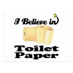 i believe in toilet paper