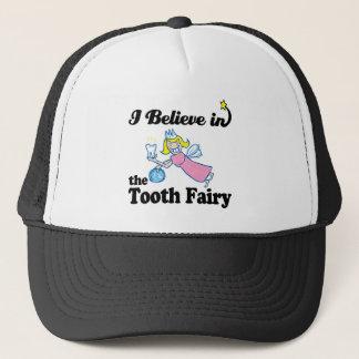 i believe in tooth fairy trucker hat