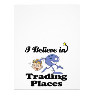 i believe in trading places 21.5 cm x 28 cm flyer
