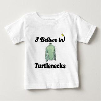 i believe in turtlenecks baby T-Shirt
