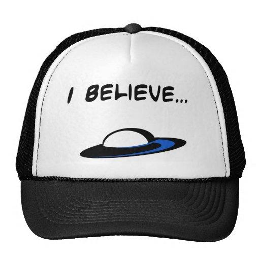 I Believe in UFO's Mesh Hats