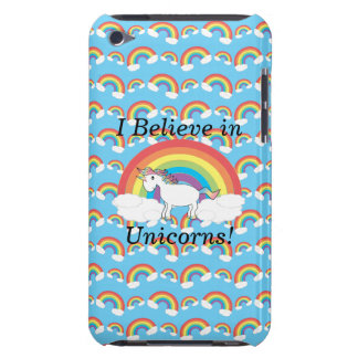 I believe in unicorns barely there iPod cover