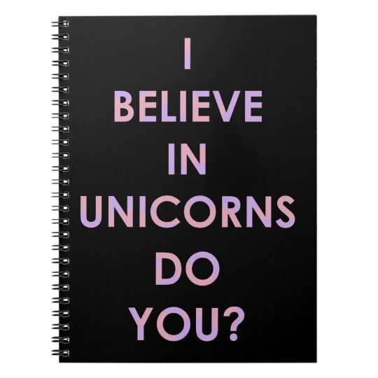 I Believe In Unicorns Pink and Purple Cotton