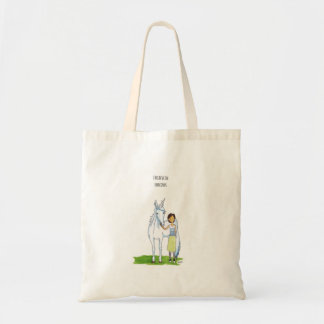 i believe in unicorns tote bag