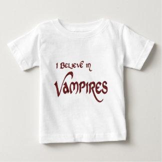 I Believe In Vampires Baby T-Shirt