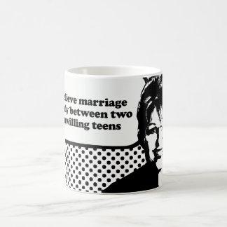I believe marriage is between two unwilling teens basic white mug