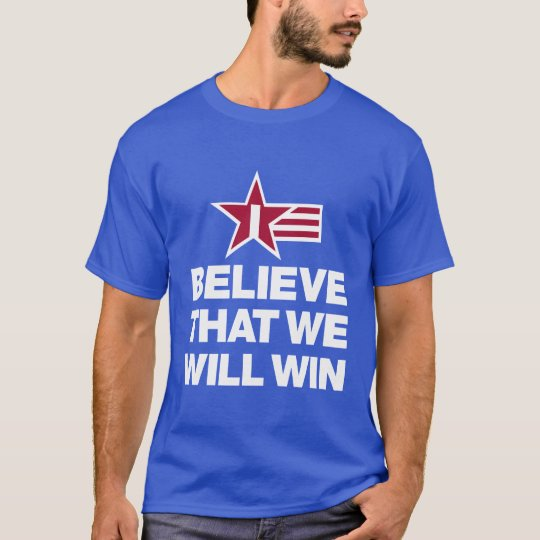 I Believe That We Will Win Soccer Men's