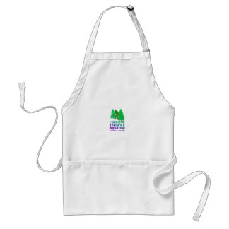 I believe there's a SQUATCH in these woods Apron