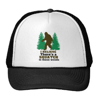 I believe there's a SQUATCH in these woods Cap