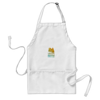 I believe there's a SQUATCH in these woods Standard Apron
