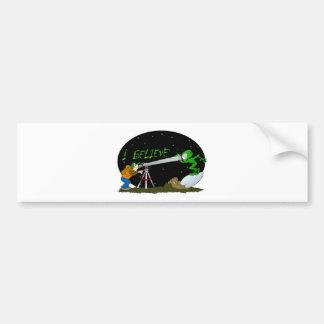 I Believe.... UFO'S Car Bumper Sticker