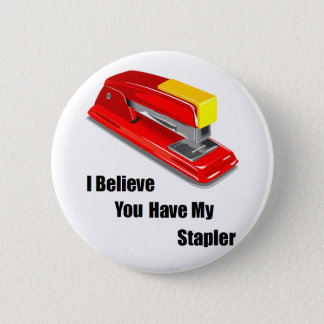 I believe you have my stapler office space 6 cm round badge
